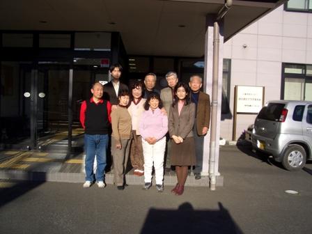 2007年1月から2月の共想法参加者との記念撮影