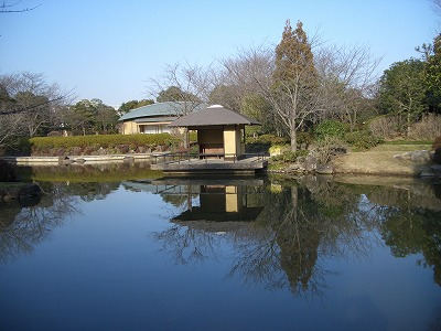 柏の葉公園内日本庭園