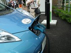 カーシェアーの電気自動車