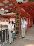 厳島神社、さすがに、美しいです!